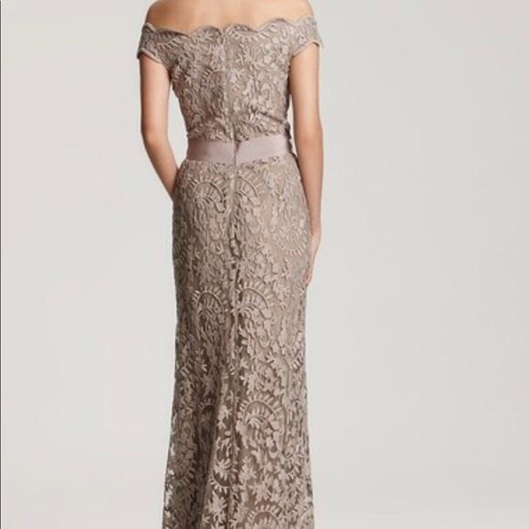 Tadashi Shoji Dresses | Nwt Embroidered Lace Gown Sz 12 | Poshmark